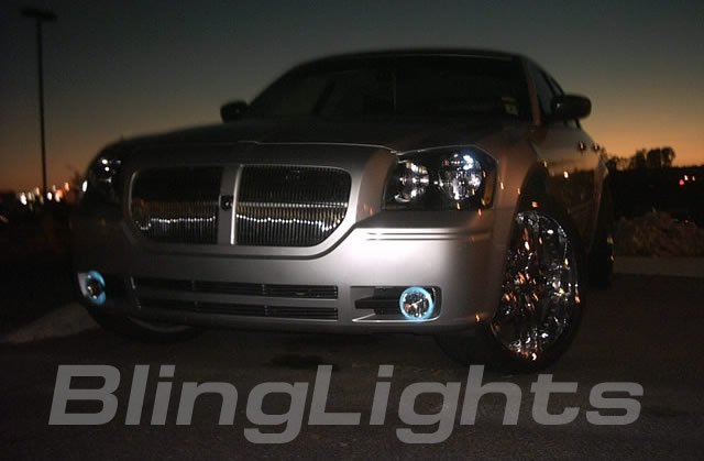 05-08 Dodge Magnum Green Halo Fog Lamps r/t lights 07
