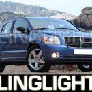 2007-2008 DODGE CALIBER HALO FOG LAMPS lights green 07