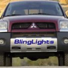 06-08 MITSUBISHI RAIDER HALO FOG LIGHTS green hid 2007
