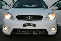2003-2008 Toyota Matrix Halo Fog Lamps lights hid 05 06