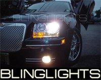 05-08 CHRYSLER 300C GREEN HALO FOG LIGHTS 06 07 LIMITED