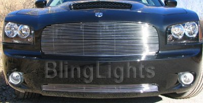 06-08 DODGE CHARGER RED HALO FOG LAMPS srt8/se/sxt 2007