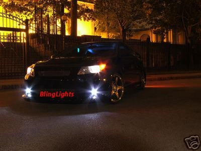 2005-2008 Scion tC Halo Fog Lamps lights green 06 07 08