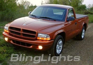 1997-2008 Dodge Dakota Halo Fog Lamps lights 06 07 hid