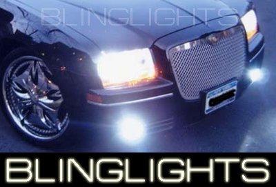 2004-2009 CHRYSLER 300c FOG LAMPS 300 lights SRT8 SRT-8 2005 2006 2007 2008