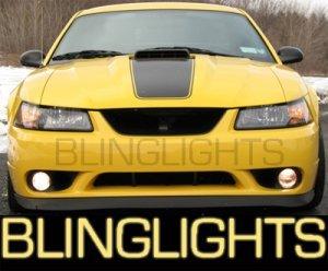 1999-2004 FORD MUSTANG COBRA XENON FOG LAMPS driving lights 2000 2001 2002 2003