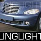 2006-2009 CHRYSLER PT CRUISER FOG LAMPS LIGHTS limited 2007 2008
