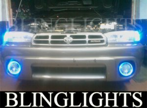 1995-1999 SUBARU OUTBACK HALO FOG LAMPS ANGEL EYE DRIVING EYES LIGHTS LAMP LIGHT KIT 1996 1997 1998