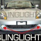 2000-2006 Toyota MR2 XENON FOG LAMPS Spyder lights 2001 2002 2003 2004 2005
