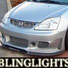 2002-2005 HONDA CIVIC SI SILK AUTOMOTIVE BODY KIT FOG LAMPS LIGHTS LAMP KIT 2003 2004