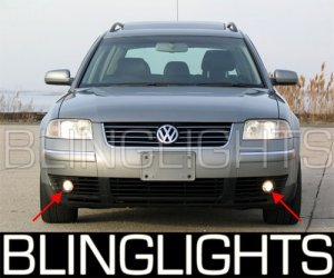 2001-2005 VW PASSAT FOG LAMPS DRIVING LIGHTS 02 03 04 turbo comfort lux volkswagen vr6 2003 2004