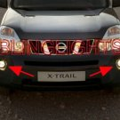2008 2009 2010 NISSAN X-TRAIL ANGEL EYES FOG LAMPS HALOS LIGHTS LIGHT LAMP KIT XTRAIL HALO EYE