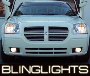 DODGE MAGNUM ANGEL EYE FOG LAMPS LIGHTS LAMP LIGHT KIT 2005 2006 2007 2008 SE SXT R/T SRT8 AWD 08
