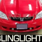 2000-2005 HONDA CIVIC XENON FOG LAMPS DRIVING LIGHTS LAMP LIGHT KIT 2001 2002 2003 2004