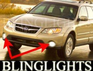 2005-2009 SUBARU OUTBACK HALO FOG LAMPS ANGEL EYE DRIVING LAMPS LIGHT EYES LAMP KIT 2006 2007 2008