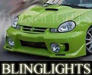 DODGE NEON JUNBUG BODY KIT BUMPER FOG LAMPS SRT-4 ACR R/T SST SXT S SE 2000 2001 2002 2003 2004 2005