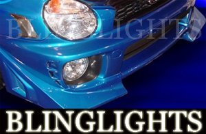 2002 2003 SUBARU IMPREZA VERSUS MOTORSPORT BODY KIT FOG LAMPS DRIVING LIGHTS LAMP LIGHT WRX STi