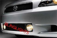 2005-2009 SCION TC HELLA GRILLE GRILL FOG LAMPS DRIVING LIGHTS LAMP LIGHT KIT 2006 2007 2008