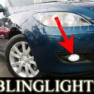 2007 2008 MAZDA MAZDA3 DIESEL XENON FOG LAMPS LIGHTS LAMP LIGHT KIT 3