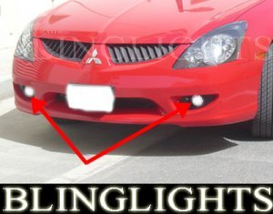 2003 2004 2005 MITSUBISHI MAGNA FOG LAMPS DRIVING LIGHT