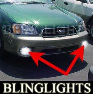 2000-2004 SUBARU OUTBACK HALO FOG LAMPS ANGEL EYE DRIVING EYES LIGHTS LAMP LIGHT KIT 2001 2002 2003