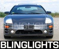 2000-2005 MITSUBISHI ECLIPSE XENON FOG LAMPS 2001 2002 2003 2004 lights