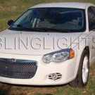 2004 2005 2006 CHRYSLER SEBRING SEDAN HALOS FOG LAMPS ANGEL EYES LIGHTS HALO EYE LIGHT LAMP KIT