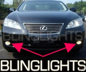 2007 2008 2009 LEXUS ES350 FOG LAMPS LIGHTS driving es