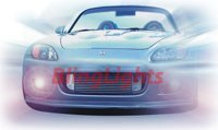 2000-2009 Honda S2000 HELLA FOG LAMPS driving lights 2001 2002 2003 2004 2005 2006 2007 2008