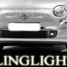 2007-2009 FIAT 500 XENON FOG LAMPS LED DRIVING LIGHTS LAMP LIGHT KIT 1.2 1.4 patrol 1.3 jtd 2008