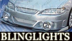 1998-2002 HONDA ACCORD VERSUS MOTORSPORT BODY KIT BUMPER FOG LAMPS DRIVING LIGHTS 1999 2000 2001