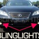 2007 2009 LEXUS ES350 FOG LAMPS LIGHTS ES 350 DRIVING 2008