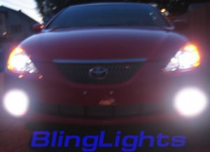 2004 2005 2006 TOYOTA SOLARA XENON FOG LIGHTS DRIVING LAMPS LIGHT LAMP KIT