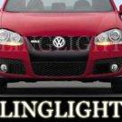 2005-2009 VOLKSWAGEN JETTA FOG LIGHTS LAMPS s se sport 2006 2007 2008