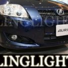 2007 2008 2009 Toyota Auris Xenon Fog Lights Driving Lamps Kit t2 t3 t spirit T180