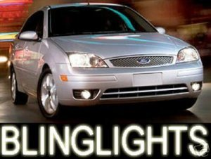 2004 2007 Ford Focus Xenon Fog Lights Driving Lamps Light Lamp Kit Zxw Zx4 Zx5 S Se 2005 2006