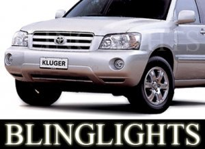2001-2007 TOYOTA KLUGER FOG LIGHTS LAMPS cv 2002 2003 2004 2005 2006