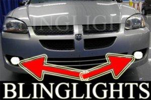 2002-2005 DODGE STRATUS SXT COUPE FOG LIGHT DRIVING LAMPS LIGHT LAMP KIT 2003 2004