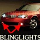 2003-2006 LINCOLN LS BUMPER FOG LIGHTS PAIR driving lamp v8 2004 2005