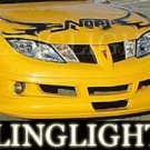 2003-2007 PONTIAC SUNFIRE RAZZI BODY KIT FOG LIGHTS LAMPS 2004 2005 2006