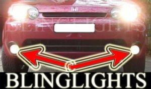 1999-2006 HONDA HR-V FOG LIGHTS driving lamps hrv 2000 2001 2002 2003 2004 2005
