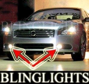 2009 2010 NISSAN MAXIMA XENON FOG LIGHTS DRIVING LAMPS LIGHT LAMP KIT 3.5 S SV SPORT PREMIUM PACKAGE