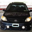 2003 2004 TOYOTA MATRIX ANGEL EYES FOG LIGHTS HALOS DRIVING LAMPS HALO LAMP EYE LIGHT KIT