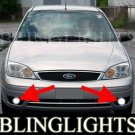 2005-2007 FORD FOCUS ZX4 SE FOG LIGHTS PAIR driving lamp 2006