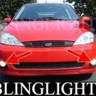 2003 2004 FORD FOCUS SVT 5 DOOR HATCHBACK LED FOG LIGHTS XENON DRIVING LAMPS BUMPER LIGHT LAMP KIT