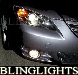 Cost Less Auto >> 2004 2005 2006 MAZDA 3 MAZDA3 SEDAN ANGEL EYES FOG LIGHTS ...