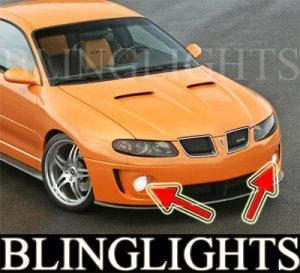 2004-2006 PONTIAC GTO FOG LIGHTS PAIR driving lamps 2005