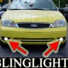 2005-2007 FORD FOCUS ZX3 SES XENON FOG LIGHTS DRIVING LAMPS LIGHT LAMP PAIR KIT 2006
