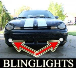1997 1998 1999 DODGE NEON R/T XENON FOG LIGHTS driving lamps