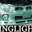 2002-2007 SUBARU IMPREZA AIT RACING BODY KIT BUMPER FOG LIGHTS DRIVING LAMPS 2003 2004 2005 2006